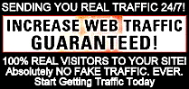 Guaranteed Web Traffic